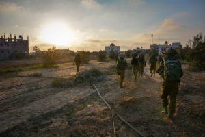 Israeli army troops  in Gaza during Operation Protective Edge (Photo: IDF Spokesperson's Unit)