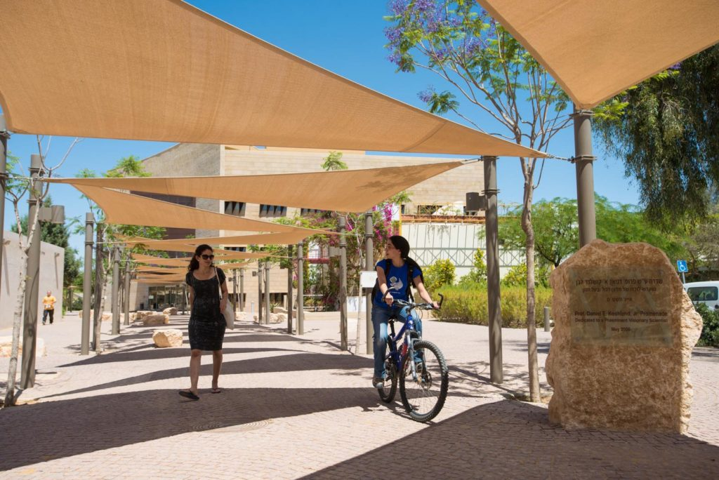 Experience the innovative oasis that is BGU's Sde Boker campus. Visit desert and water research labs and the David Ben-Gurion Archives.