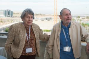 Arline and Mort Doblin at the American Associates Reception at BGU's 44th Board of Governors Meeting in Beer-Sheva