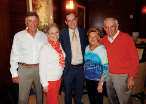 Gene and Karen Kroner; Kevin Leopold, AABGU's Northeast executive director; Phyllis and Robert Sage