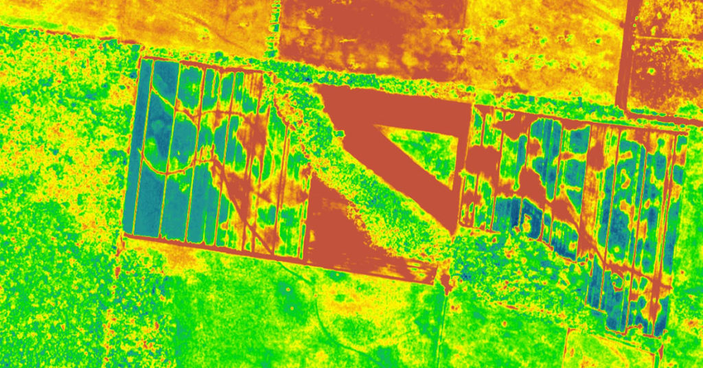 Using hyperspectral imaging for agriculture