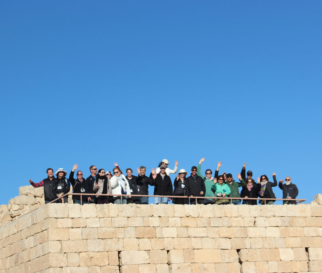 The Zin Fellows visiting the ruins of Avdat